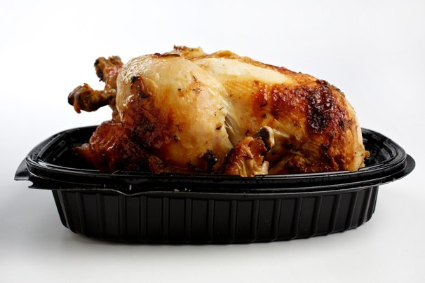how to reheat cut up rotisserie chicken