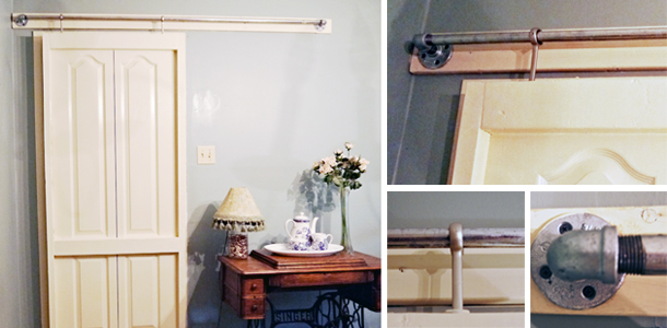 DIY: Sliding Barn Doors